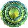 Glitz Sew-on Stone 10pcs Round 45mm Emerald Aurora Borealis